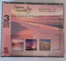 Nature Ensemble The Essence Of Relaxation Beautiful Music In Harmony 3 Disc CD
