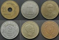 WORLD COINS - Choose from list - PHOTO for every coin - £1.99 each - FREE P&P