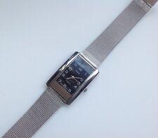 "superbe montre bijou femme rétro stainless steel back quartz bijoux ""TERNER"" 660"