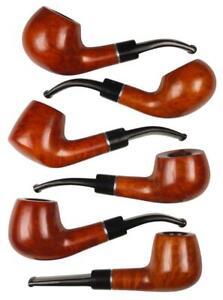 Jean Claude Whistles Bright Semi Matte /Bruyere/Ring Acrylic / 9 MM/6 Models