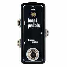 Tuner Mute Pedal - True Bypass - Loopi Pedals