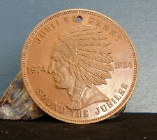 1924 Jubilee Penny 50 Year Anniv. National Womens Christian Temperance Union
