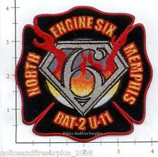 Tennessee - Memphis Engine 6 Battalion 2 Unit 11 TN Fire Dept Patch