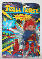 1990's Troll Force Super Hero Action Figure Carded He-Man KO Mighty
