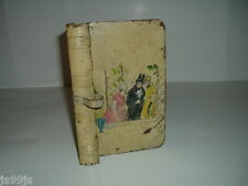 TIN CASE FAKE BOOK FROM THE MID 1800s With Painting On Front