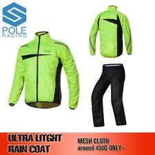 ULTRA LIGHT Sport Jacket Men Riding Waterproof Rainwear Suit Motorcycle Raincoat