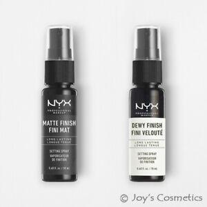 "1 NYX Makeup Setting Spray Mini Size - Matte & Dewy ""Pick Your 1 Type"" *Joy's*"