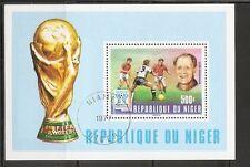 Niger SC # 417 World Cup argentina 1978 . MNH