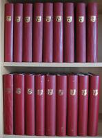 s2207) Liechtenstein gestempelt Bogensammlung bis 2016 in 18 Bänden ca 30000 CHF