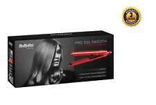 Babyliss 2398BU Pro 235 Suave Cerámica Plancha de pelo de Voltaje Dual & Calor Mat