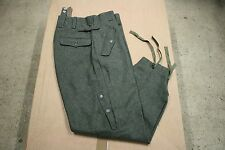 WW2 German Paratrooper Jump Trousers  Wool Reproduction Fallschirmjager SIZE 32