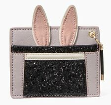 NWT Kate Spade make magic rabbit in a hat Bunny card case!
