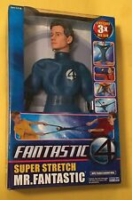 "Mr. Fantastic 13"" Super Stretch doll FANTASTIC FOUR 2005 Marvel MISB  Armstrong"