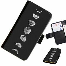 MOON02 MOON SKY PRINTED LEATHER WALLET/FLIP PHONE CASE COVER FOR ALL MODELS