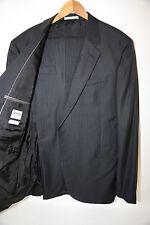 Armani Collezioni Georgio Black Two Button Suit Size 46 L