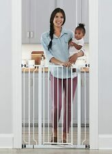 Regalo Easy Step Extra Tall Walk Thru Pets Baby Gate, W: 29-36.5