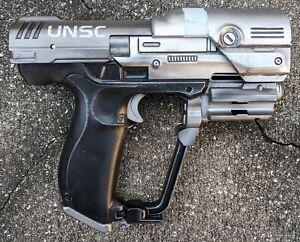 Boomco custom Halo UNSC M6 Magnum dart gun pistol blaster cosplay prop toy