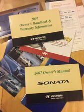 HYUNDAI SONATA NF 2007 Owners Handbook And MANUAL