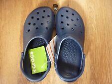 Mens Navy Crocs Size 8