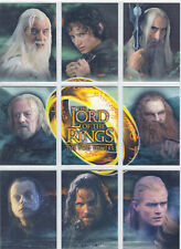 Lord Of The Rings The Two Towers Complete 9 Card Binder Set