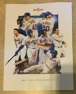 New York Mets Official 2020 Baseball Yearbook NEW shipped in a box