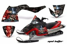 AMR Racing Sled Wrap Polaris Fusion Snowmobile Graphics Kit 2005-2007 HATTER RED