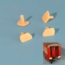 O : 1/43,5 : 4 TAMPONS PAN COUPE EN RESINE POUR VOITURES LIMA