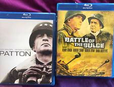 Patton 1969 Battle Of the Bulge 1965 2 Blurays George C Scott Henry Fonda