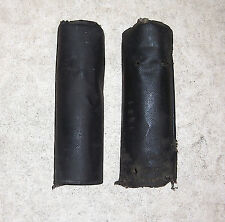 1970s VINTAGE REAR SHOCK ABSORBER COVERS for ISDT/GIRLING ETC, FAIR/AS-IS (BN32)