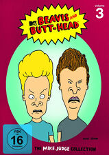 3 DVDs * BEAVIS AND BUTT-HEAD - THE MIKE JUDGE COLLECTION, VOLUME 3 # NEU OVP =