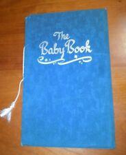 Vintage 1948 Original Baby's Own Baby Book Birth Announcement 1948 EUC