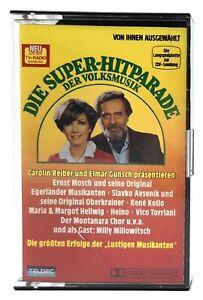 MC Die Super-Hitparade der Volksmusik Heino Avsenik uvm | Kassette | Teldec 1983
