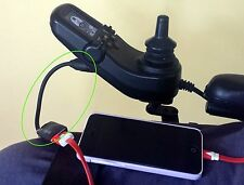 Best Power/Motorised Wheelchair Scooter iPhone/iPad Android Charger