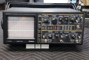 TENMA DSO MODEL  72-6210 20MHZ DIGITAL STORAGE OSCILLOSCOPE