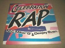 "M.C. MIKER ""G"" & DJ SVEN (12""MAXI) CELEBRATION RAP [4-TRACK 45RPM ´86 **POP RAP]"