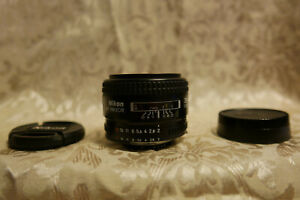 Nikon AF Nikkor 35mm 1:2 Excellent Glass Excellent Condition