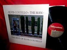 ELVIS COSTELLO The man The best of LP 1987 AUSTRALIA MINT- PROMO