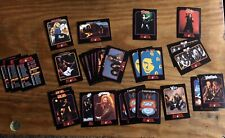 MEGA METAL TRADING CARDS - LOT OF 29 CARDS ! CHECK OTHER LISTINGS !