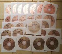 26 CDG KARAOKE DISCS (PINK COVERS) CD+G COUNTRY,ROCK,OLDIES,STANDARDS,GRUNGE