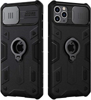 Nillkin iPhone 11 Pro Max Case, CamShield Armor Case with Slide Camera Cover, PC