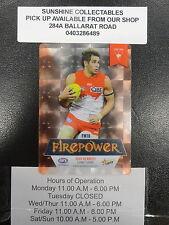 2013 AFL CHAMPIONS FIREPOWER MIRROR FM16 JOSH KENNEDY SYDNEY SWANS