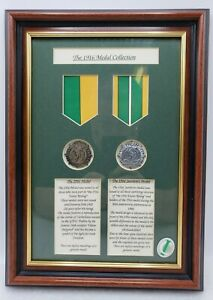 """Irish 1916 """"Easter Rising"""" Replica Medal Collection Framed 14""""× 10"""""""