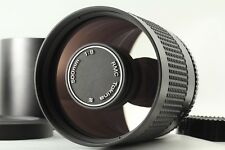 【Mint】Tokina 500mm F/8 Mirror Reflex Lens For CONTAX w/Hood From Japan 260