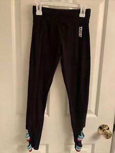 Girls Justice Black Leggings-Size 10