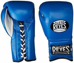 Cleto Reyes Lace Boxing Training Gloves 16 oz. Blue