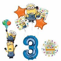 Despicable Me 3 Minions Stacker 3rd Birthday Party Supplies