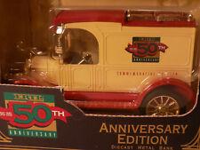Vintage Ertl # B945 1913 Ford Model T Van 50th Anniversary New Old Stock MIB