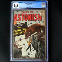 Tales to Astonish #22 (Marvel 1961) 💥 CGC 6.5 💥 Rare Jack Kirby Monsters Comic