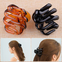 Black & Brown Set Women Octopus Hair Claw Clips Clamp Hairpin Accessory Fashion