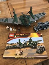 LEGO Indiana Jones 7683 Fight On The Flying Wing (2009) Please Read